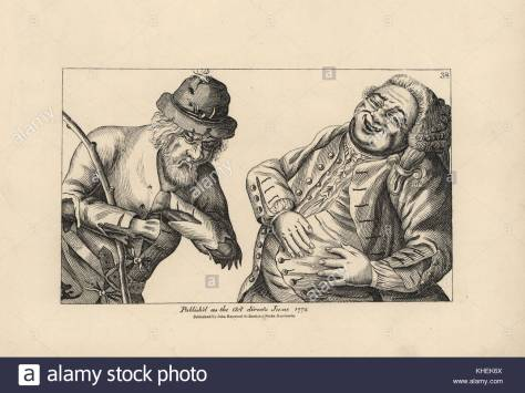 wealthy-fat-courtier-and-poor-rustic-peasant-in-rags-copperplate-engraving-KHEK6X